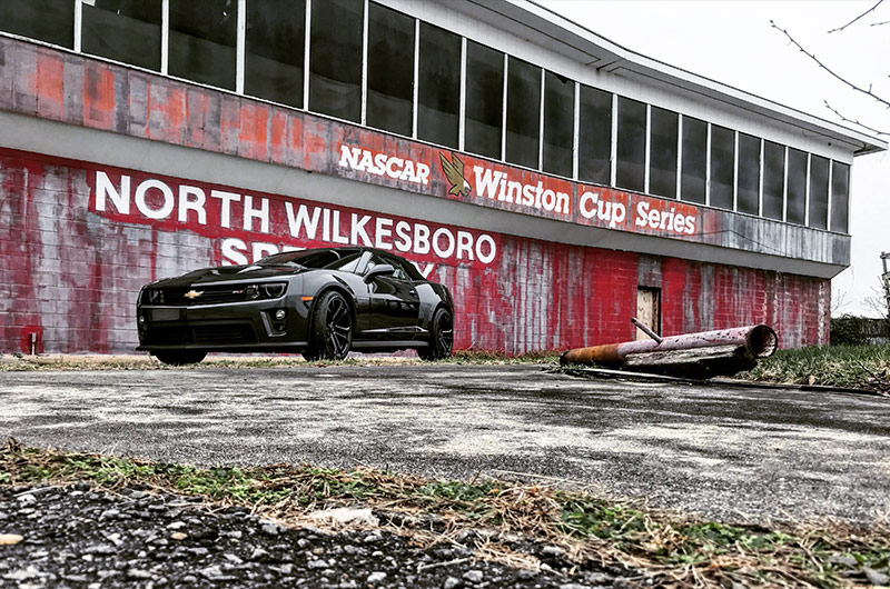 Jeff Gordon's 2013 Chevrolet Camaro ZL1 Convertible – North Wilkesboro Speedway